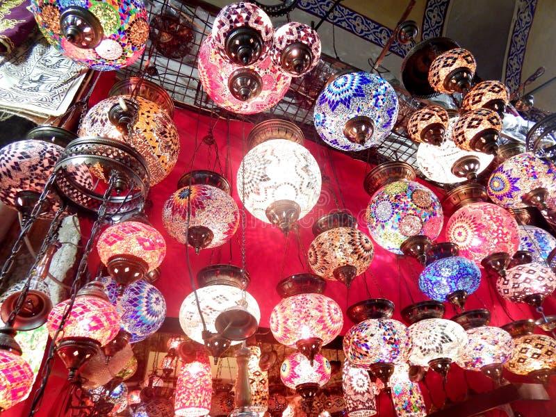 伊斯坦布尔枝形吊灯 库存图片