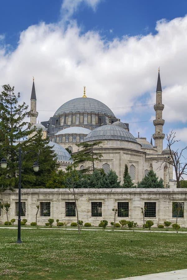 伊斯坦布尔清真寺suleymaniye 库存图片