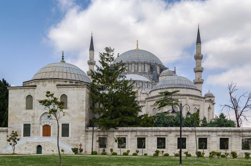 伊斯坦布尔清真寺suleymaniye 免版税库存照片