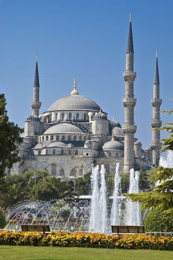 伊斯坦布尔清真寺sultanahmet 免版税库存照片