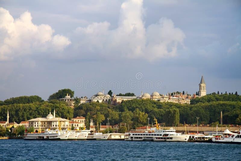 伊斯坦布尔端口sirkeci 库存图片