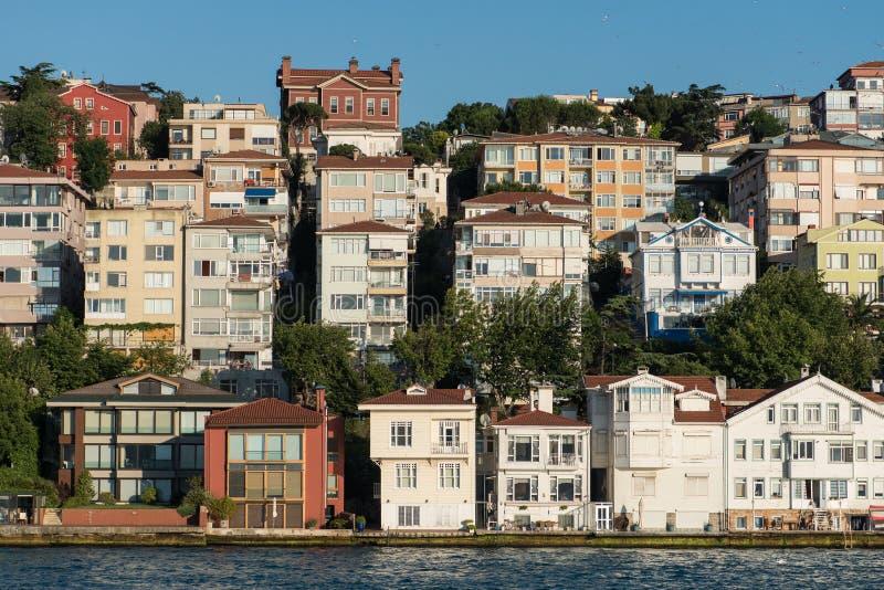 伊斯坦布尔舒适房子 库存图片