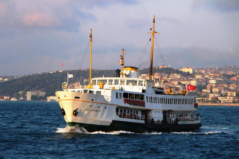 伊斯坦布尔轮渡 库存照片