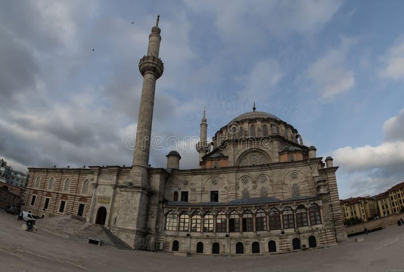 伊斯坦布尔,法提赫清真寺清真寺,征服者 图库摄影