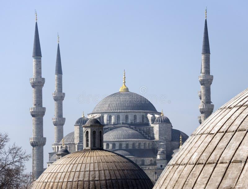 伊斯坦布尔-蓝色清真寺-土耳其 免版税图库摄影