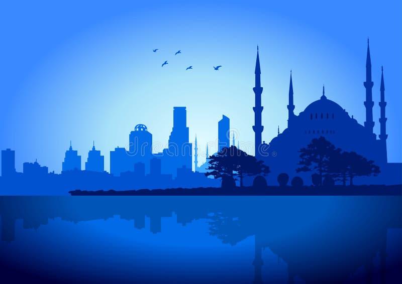 伊斯坦布尔 库存例证