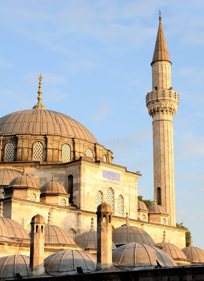 伊斯坦布尔mehmet清真寺巴夏 库存照片