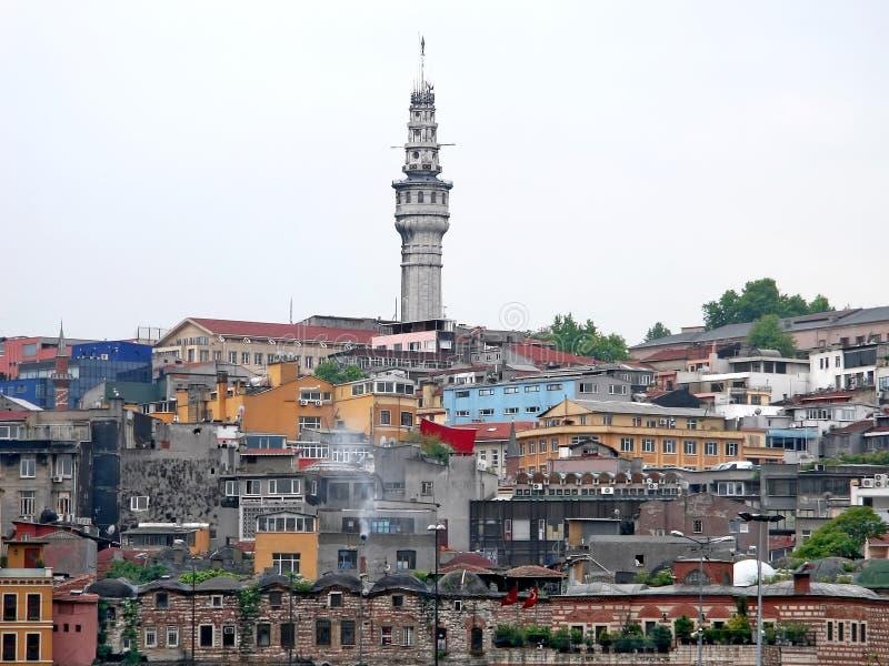 伊斯坦布尔townscape 库存图片