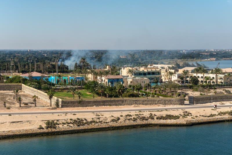 伊斯梅利亚奥运村-伊斯梅利亚,埃及 免版税库存照片