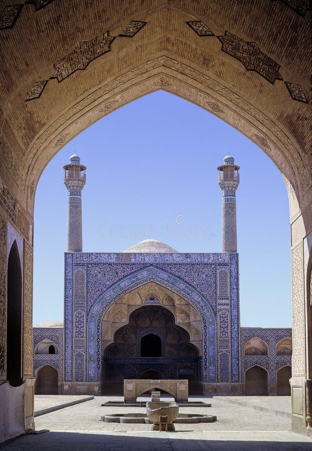 伊斯法罕清真寺 免版税库存图片