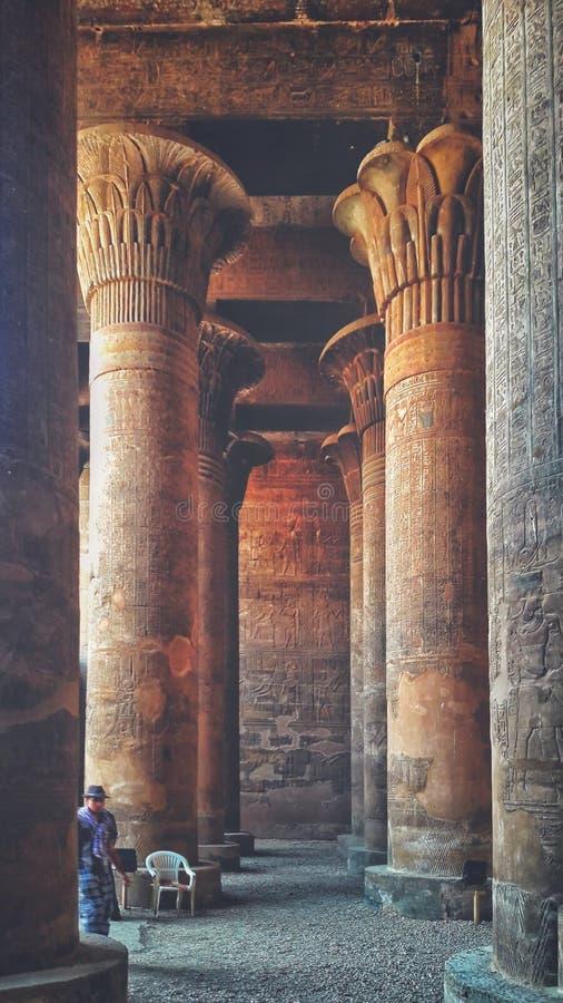 伊斯纳,伊斯纳寺庙  免版税库存照片