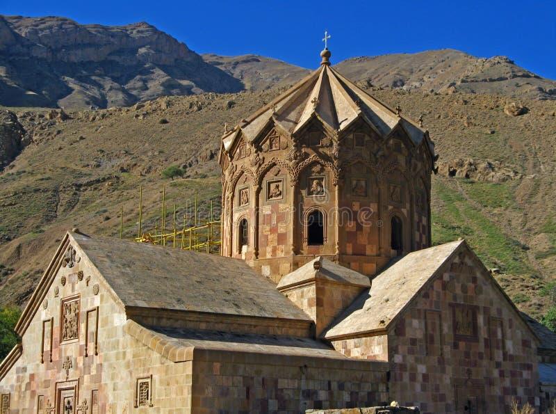 伊朗朱尔法圣斯特帕诺斯修道院 免版税库存照片