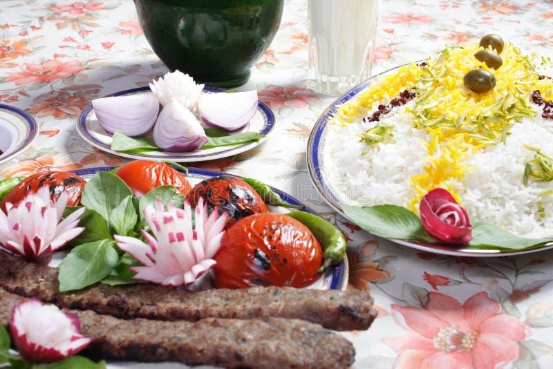 伊朗食物 图库摄影