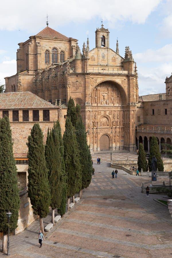 伊格莱斯de圣埃斯特万,萨拉曼卡 免版税库存照片