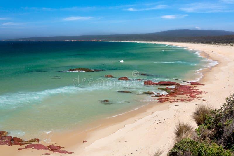 伊甸海岸美丽的海滩 免版税库存照片