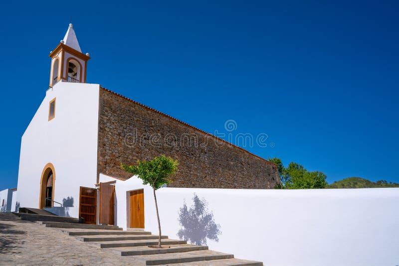 伊维萨岛圣胡安包蒂斯塔在巴利阿里群岛 图库摄影