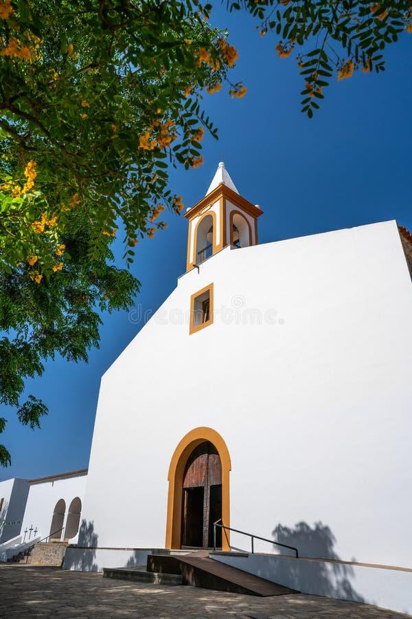 伊维萨岛圣胡安包蒂斯塔在巴利阿里群岛 库存照片