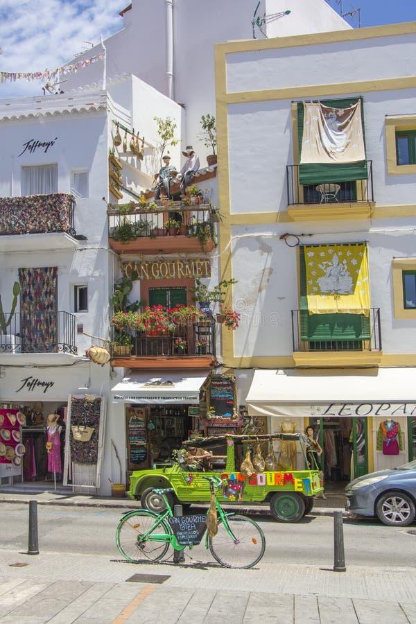 伊维萨岛是其中一巴利阿里群岛 免版税库存照片