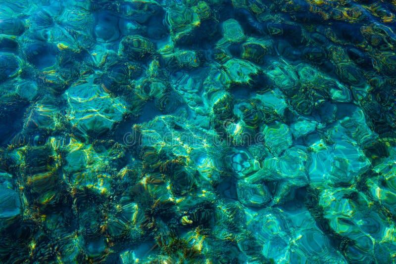 伊维萨岛Portinatx阿雷纳尔Gran海滩在Balearics 图库摄影