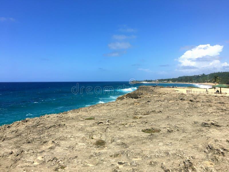 伊莎贝拉岛海滩波多黎各 免版税库存照片