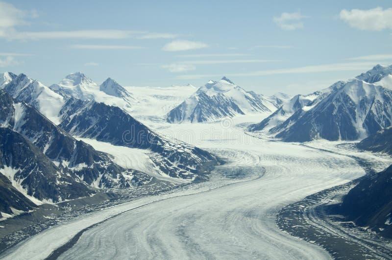 伊莱亚斯冰川范围st 免版税库存图片