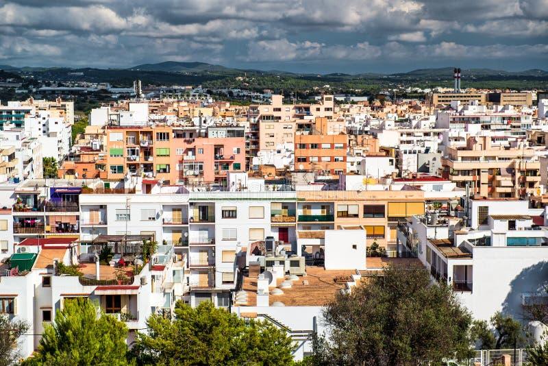伊维萨岛,西班牙 免版税库存图片