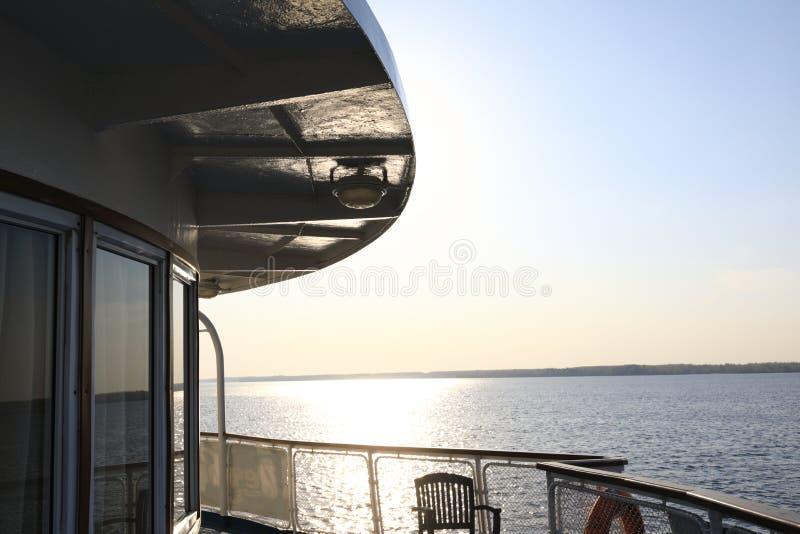 伏尔加河看法  库存图片