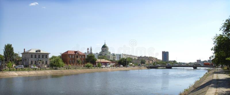 伏尔加河 免版税库存照片
