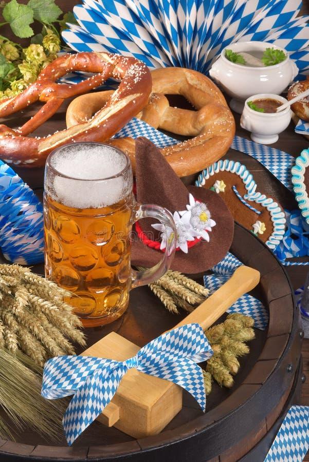 巴伐利亚和慕尼黑啤酒节 库存照片