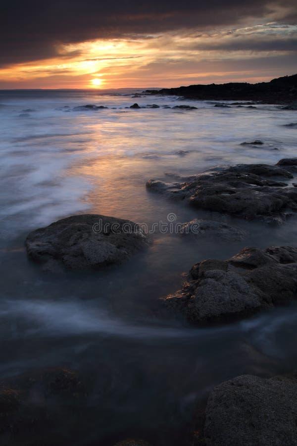 休息海湾,波斯考尔,南威尔士 库存图片