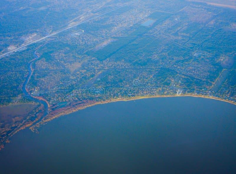 休斯敦海岸线 图库摄影