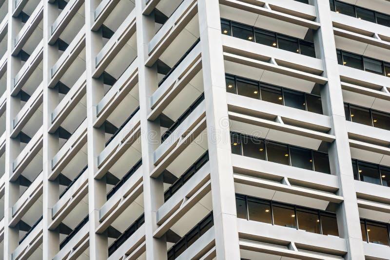 休斯敦,得克萨斯建筑学 免版税图库摄影