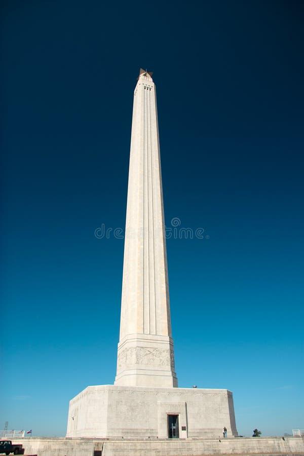 休斯敦jacinto mounument圣・得克萨斯 免版税图库摄影