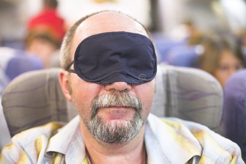 休眠的人 免版税库存照片