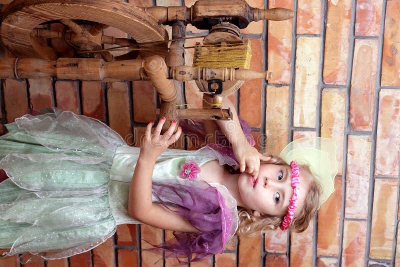 休眠的公主的传说 库存图片