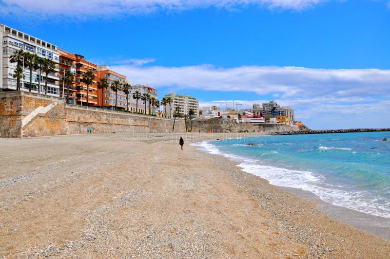 休达,西班牙 免版税图库摄影