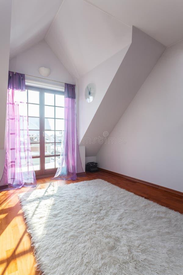 优等的家的空的空间 免版税库存照片