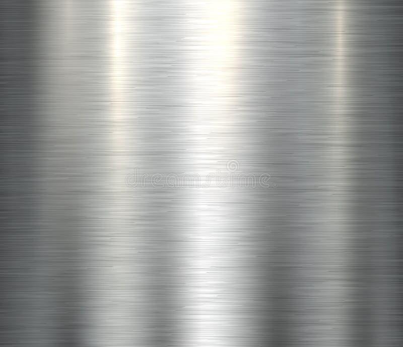 优美的金属纹理 向量例证