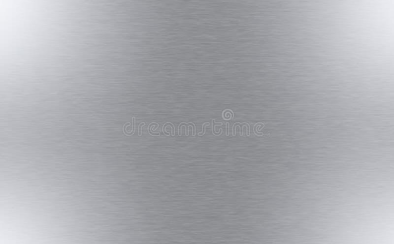 优美的金属纹理 免版税库存图片
