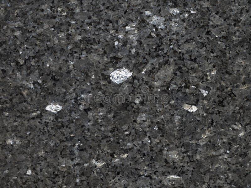 优美的黑花岗岩 库存照片