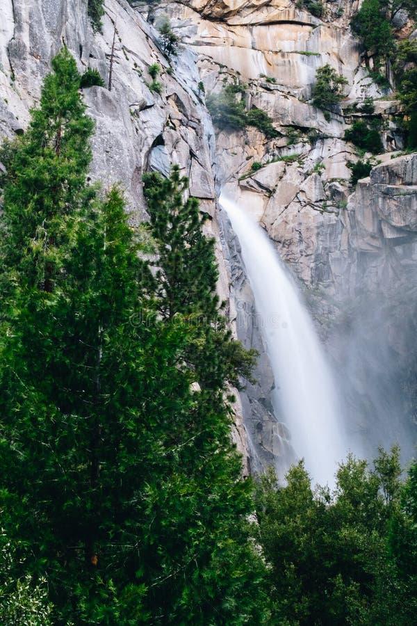 优胜美地国家公园是美国国家公园 图库摄影