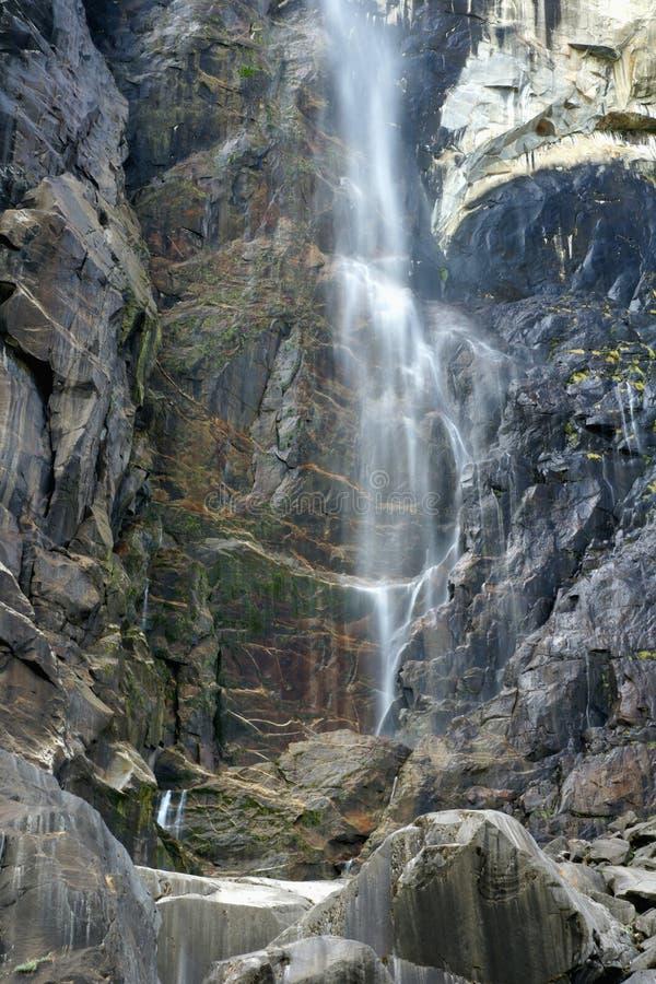 优胜美地国家公园瀑布,加利福尼亚,美国 图库摄影