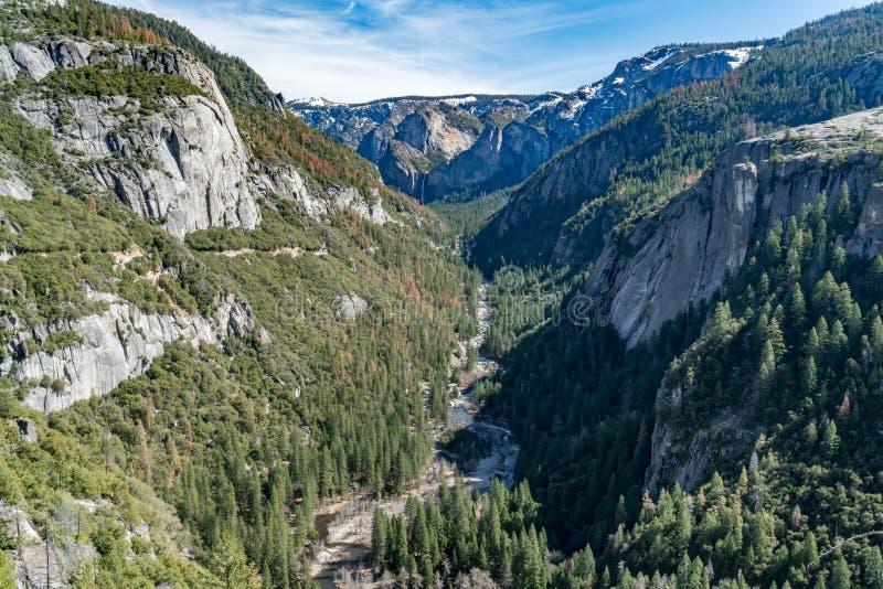 优胜美地谷,加利福尼亚 免版税库存图片