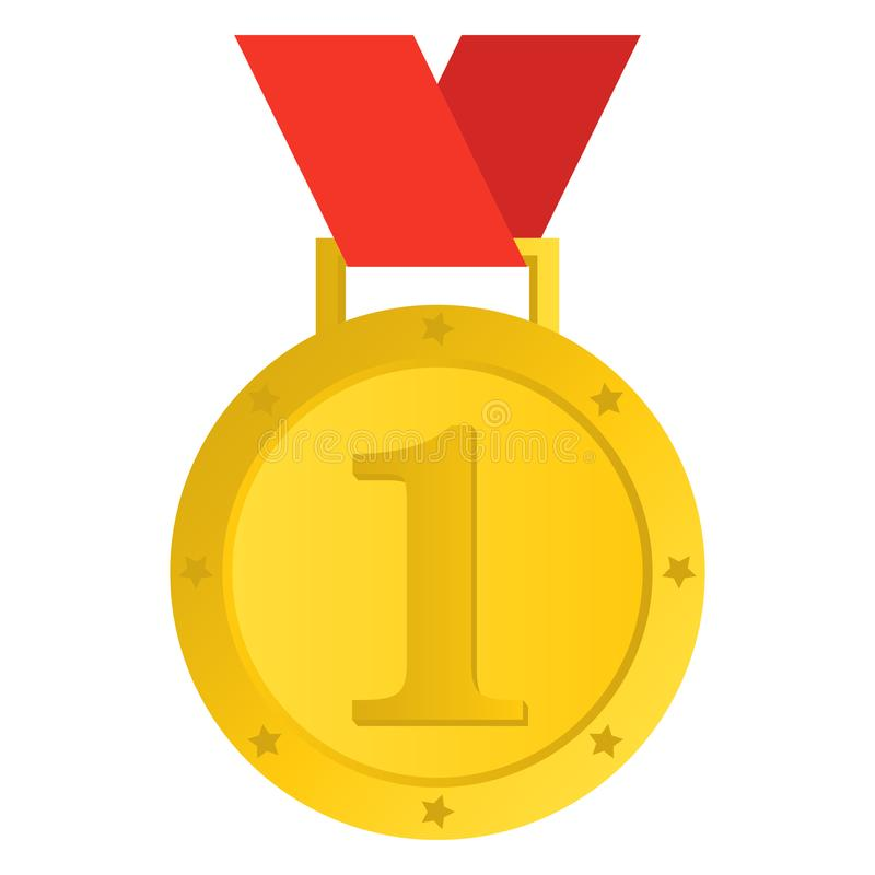 优胜者奖牌传染媒介设计的一个美好的例证 向量例证
