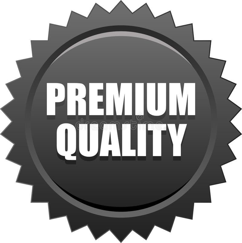 优质质量封条邮票黑色 向量例证