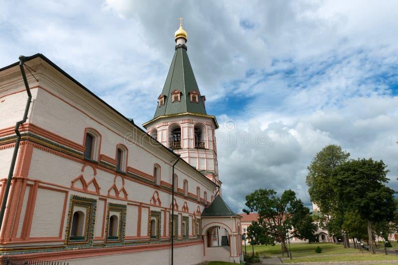 优越教会和钟楼军团  库存照片