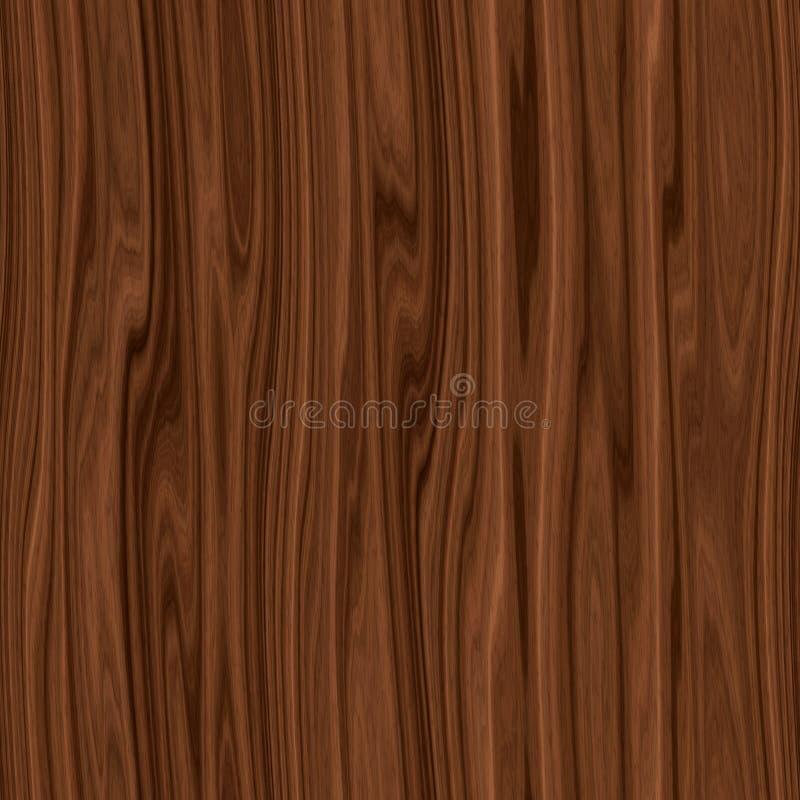 优质高分辨率无缝的木纹理 向量例证
