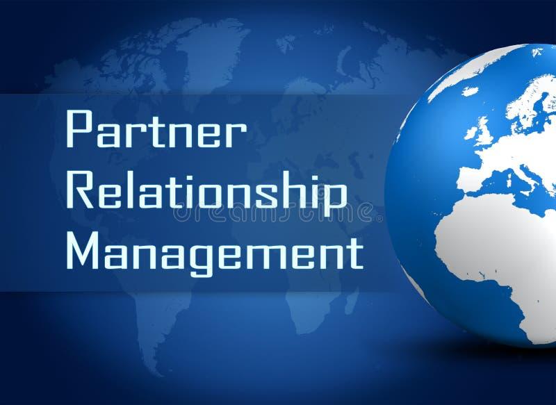 伙伴关系管理 库存例证