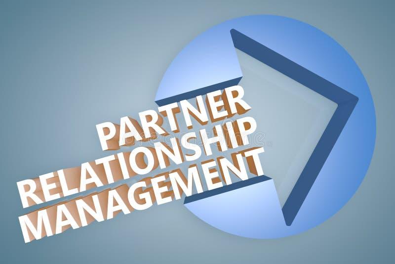 伙伴关系管理 向量例证