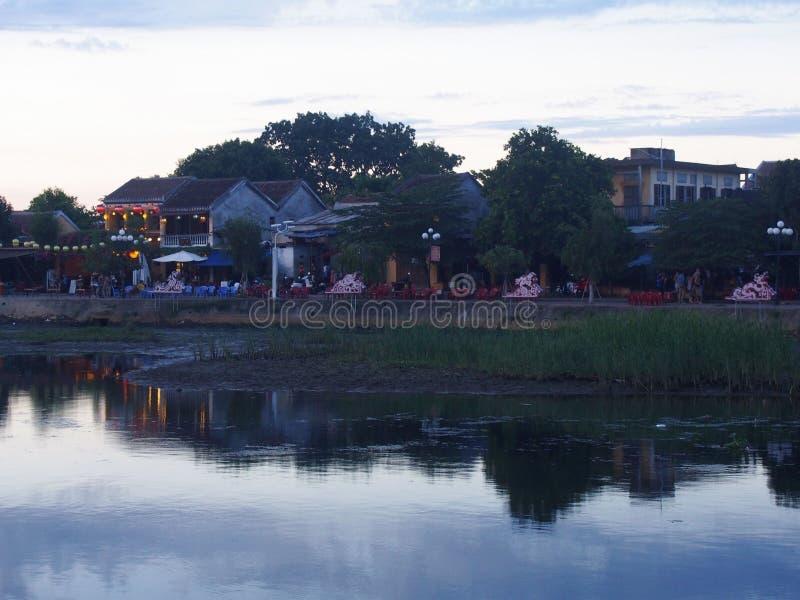 会安市老镇在越南 免版税库存图片